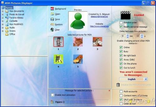 MSN Pictures Displayer 4.6