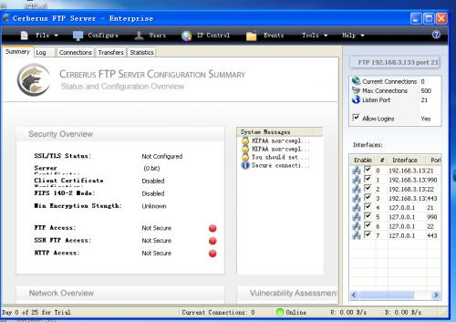 Cerberus FTP Server 2.46