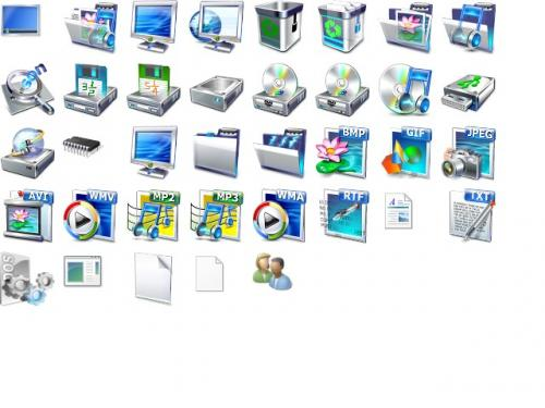 Vista Icon Pack 3