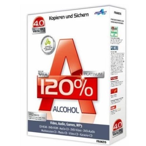 Alcohol 120% - Descargar 2.0.1.2033