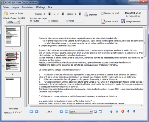 NW Docx Converter (Docx2RTF) 3.5