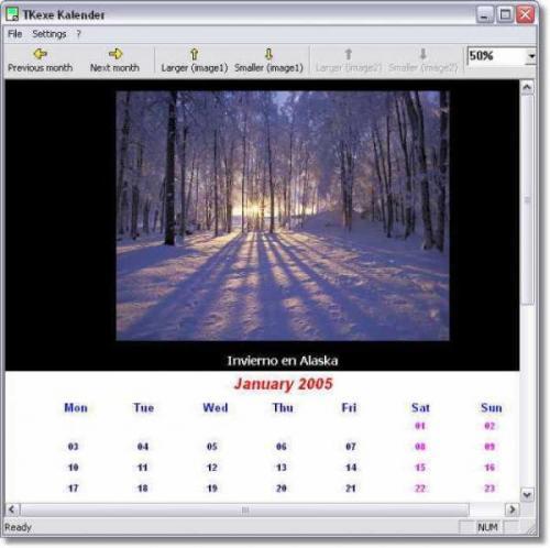 Tkexe Kalender - Descargar 1.0.9.4