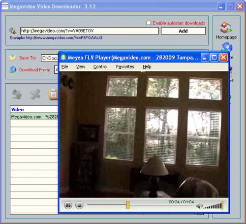 Megavideo Video Downloader 3.12