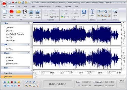 Free Audio Editor 6.0.1