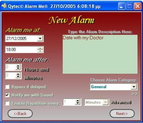 Alarm me 3.4