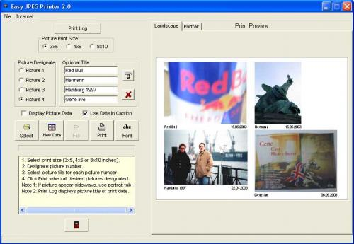 Easy JPEG Printer 2.0