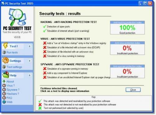 PC Security Test 3.6.0