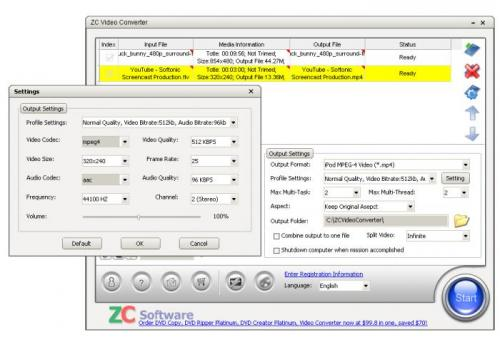 ZC Video Converter - Descargar 1.9.2