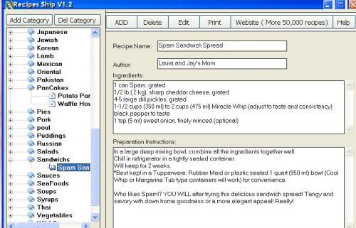 Recipes Ship 1.2 - Descargar 1.2