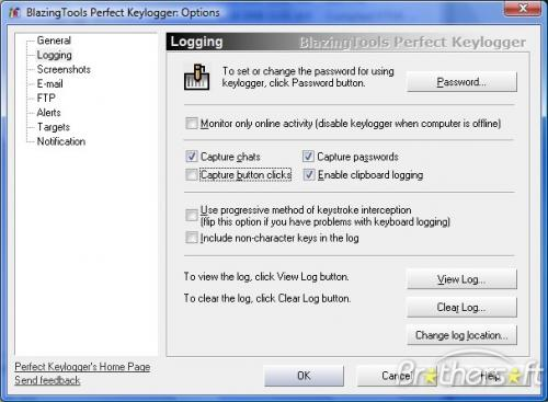 BlazingTools Perfect Keylogger 1.68