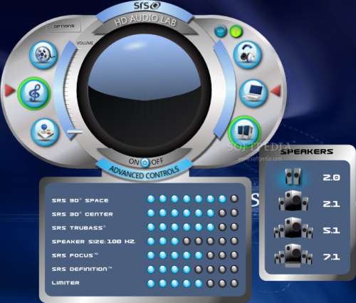 SRS Audio Sandbox 1.9.0.4 - Descargar 1.9.0.4
