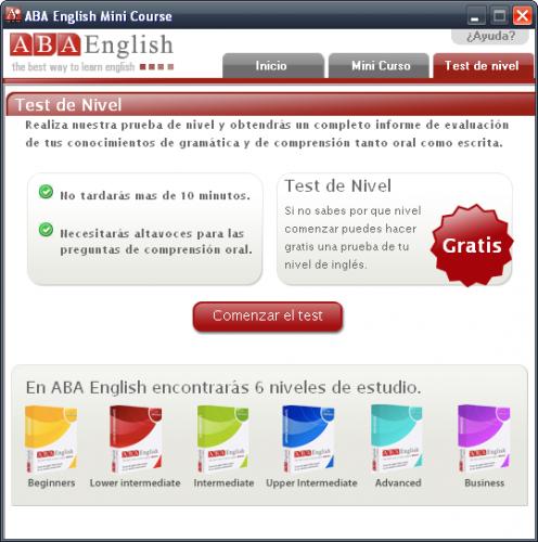 Mini Curso de Ingles ABA 1.0