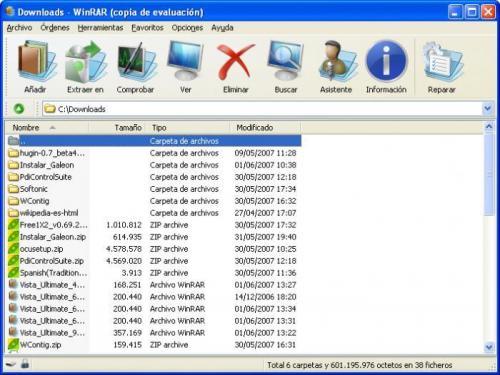 WinRAR Vista Ultimate Theme (64x64) 1.0