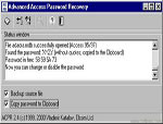 Advanced Access Password Recovery 2.5