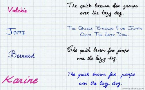 17 handwriting fonts - Descargar 15.1