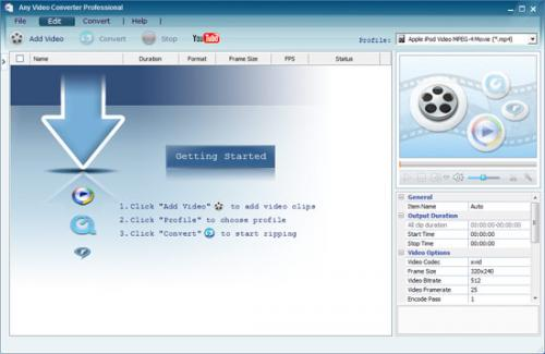 Any Video Converter - Descargar 3.25