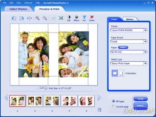 ArcSoft PhotoPrinter 5