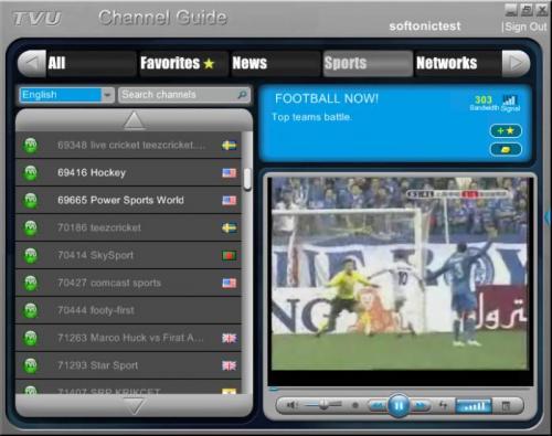 TVUPlayer 2.4.1.0 - Descargar 2.4.1.0