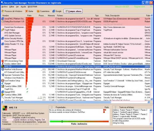 Security Task Manager 1.7f