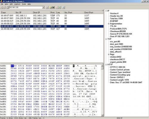 IP sniffer 1.98
