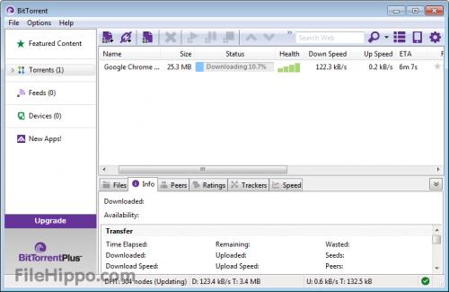 BitTorrent 7.0 - Descargar 7.0