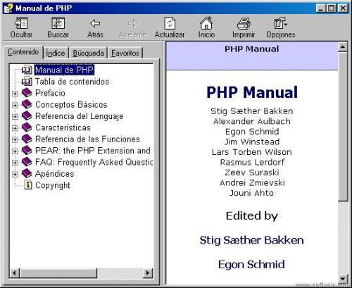 Manual de PHP  7 Diciembre 2007