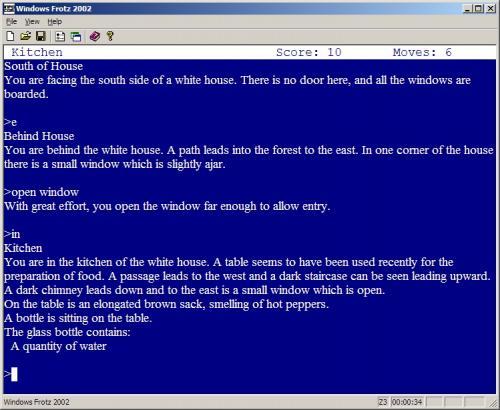 Windows Frotz 2002 1.02