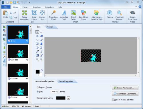 Easy GIF Animator 4.8