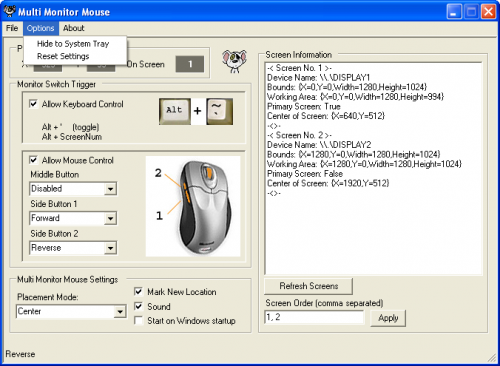 Multi-Monitor Mouse 1.1