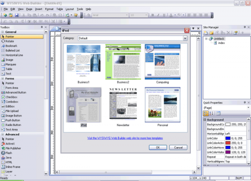 WYSIWYG Web Builder 4.3.1